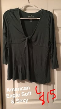 American Eagle green shirt 3/4 sleeve Knoxville, 37912