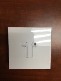 Apple AirPods 2nd Generation with wireless charging case Brand New