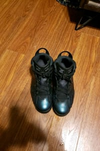 pair of black leather work boots Alexandria, 22308