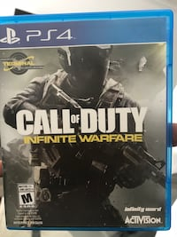 Call of duty infinite warfare ps4 game Surrey, V4N 2H8