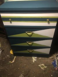 MCM boys chest and night stand
