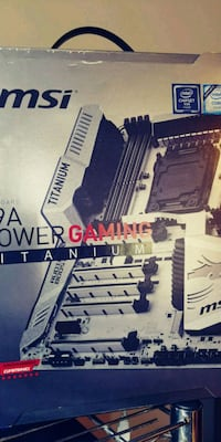 msi x99 xpower gaming ttanium motherboard