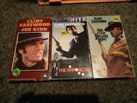 Clint Eastwood fans 3vhs movies make offer