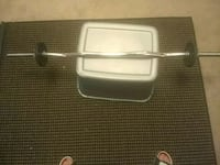 Bicep curl bar with clamps Woodbridge, 22192