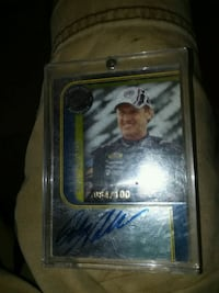 Rusty Wallace authentic autograph s/n - 084/100 Moss Point