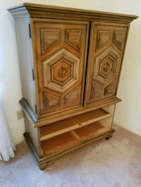 brown wooden cabinet with drawer Silver Spring, 20906
