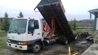 2003 HINO FB FLAT DECK WITH HOIST  Surrey, V3S 1Y1