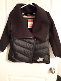Brand NEW black Nike full zip jacket Montreal