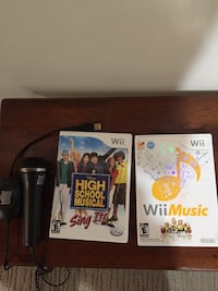 Wii Music with microphone & Disney High School Musical Newmarket, L3Y 6J5