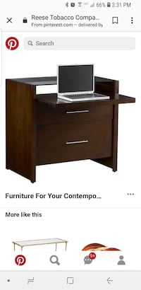 Crate & Barrel Reese Compact Office Desk Brand New Retails $480 48 km