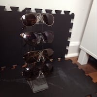 Acrylic standing sunglasses display $5.00 Miami, 33132