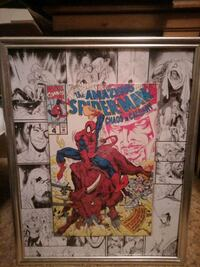 The amazing Spiderman chaos in Calgary comic book picture Edmonton, T5P 1T6