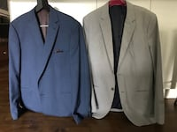 Two 44 tall men's sports coats from the bay. Maybe worn 10 times Calgary, T2V 0R9