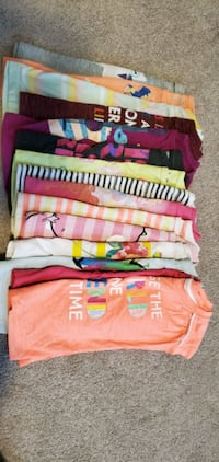 2T tshirts and a pant for toddler girl