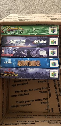 Nintendo 64 Boxes and Manuals