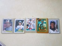 four assorted baseball trading cards Walkersville, 21793