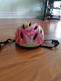 Kids' flower print bike helmet Mississauga, L5J 4J2