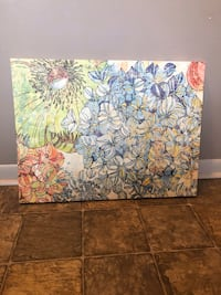 Canvass painting