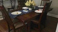 Brown wooden dining table set Greensboro, 27282