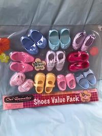 "Our generation 18"" doll shoe pack new Azusa"
