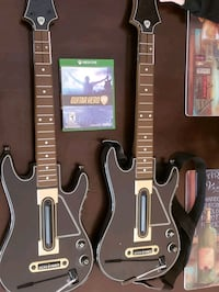Xbox one guitar hero  Bristow, 20136