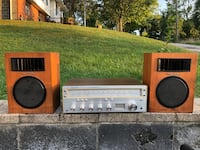 Vintage Realistic stereo receiver and speakers!