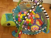 Toy- activity gym and ball pit