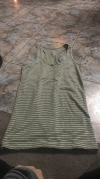 Green and grey Ardene top size small