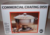 Seville Classics 4 Quart Stainless Steel Chafing Dish (3 new in box)  Montgomery Village, 20886