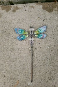 Butterfly plant stake