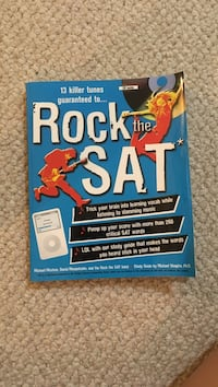Rock the sat book and CD Gaithersburg, 20878