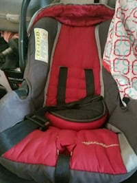 baby's red and black car seat carrier Live Oak, 95953