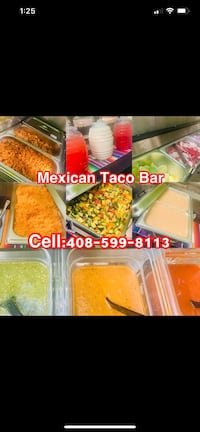 Event Mexican Taco Bar catering Sunnyvale
