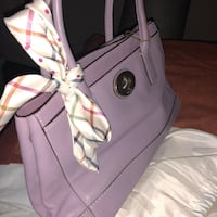 Coach leather handbag lilac
