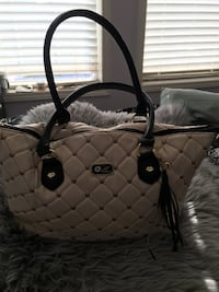 quilted white leather tote bag Calgary, T2H