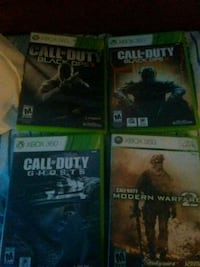 4 call of duty games Knoxville, 37909