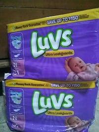 Luvs Ultra Leakguards diaper box 1621 mi