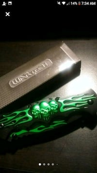 WarTech Double bladed knife - New