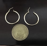 10k gold hoop/earrings real gold not gold plated junk Edmonton, T5W 0P8