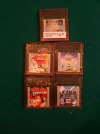 Nintendo Gameboy color original games Oakville, L6L 6S1