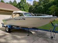 18 ft. Galaxy Boat and Trailer!   453 mi