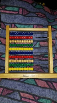 brown, red, blue, and yellow abacus Capitol Heights, 20743