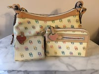 Dooney and Bourke Purse with Wristlet and Change Purse Mc Calla, 35111