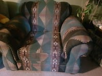 brown and black leather sofa chair Mission, V4S 1B1