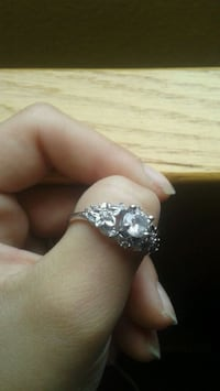 silver-colored diamond ring Caldwell, 83607