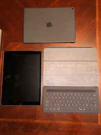 "IPAD 12.9"" 126GB, Apple Pencil, and Smart Keyboard Coral Gables, 33146"