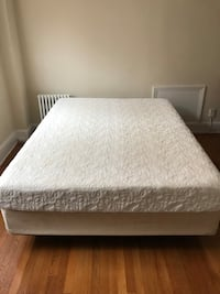 Queen size mattress with box spring  Washington, 20015