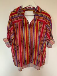 COLORFUL RODEO TOP