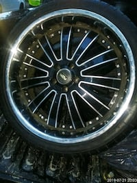 22 in   A2K  five lugs rims New Orleans, 70119