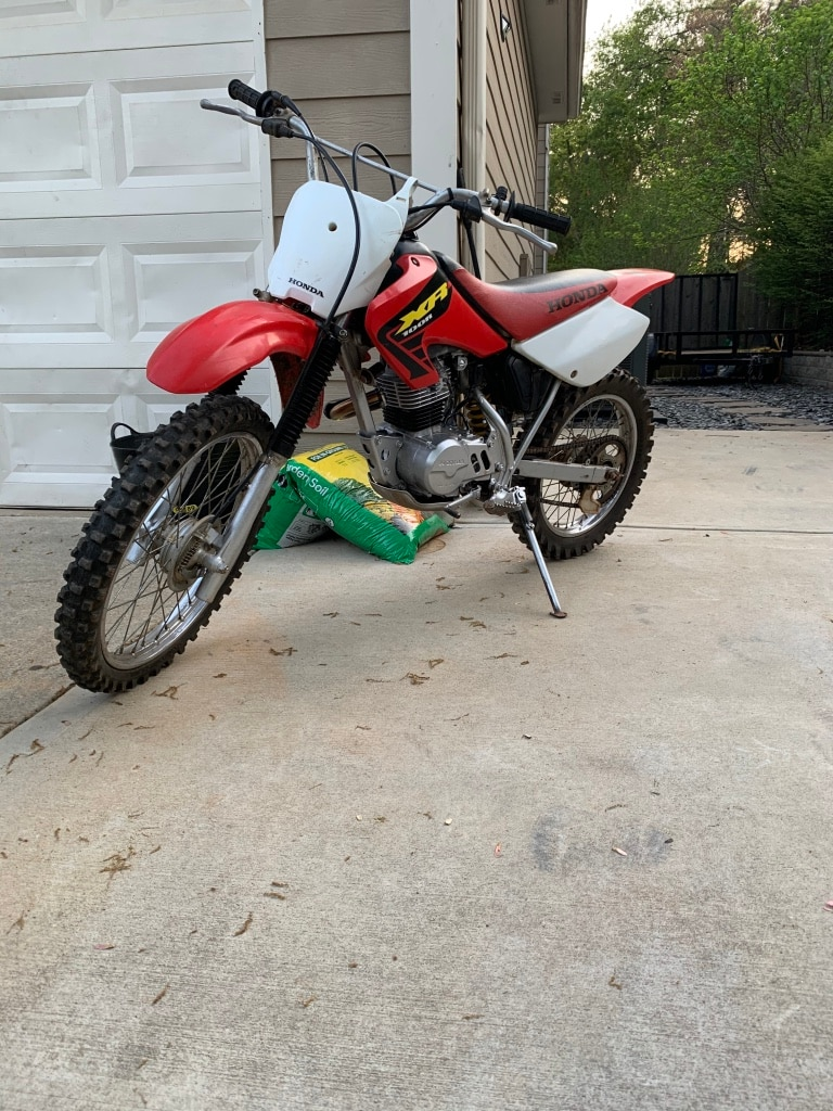 Photo Honda xr100